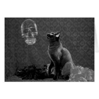 O Dia das Bruxas feliz & fantasma Cartão