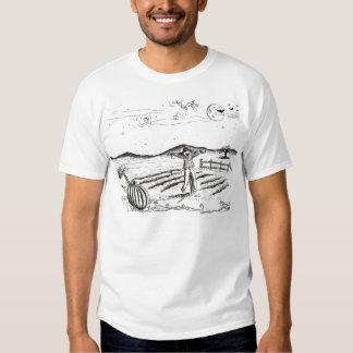 o Dia das Bruxas feliz T-shirt