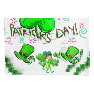 O dia de St Patrick da caixa do travesseiro