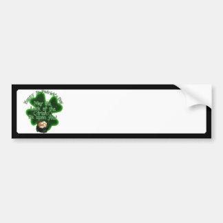 O dia de St Patrick - pode a sorte do irlandês… Adesivos
