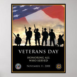 O dia de veterano 2008 poster