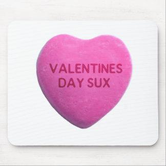 O dia dos namorados suga o coração cor-de-rosa dos mousepad