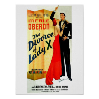 O divórcio da senhora X Poster