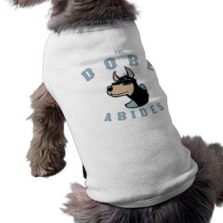 O Dobe habita Camisa Sem Mangas Para Cachorro