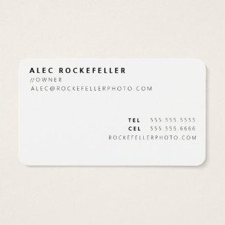 O dobro das iniciais do pop da cor do fotógrafo cartão de visitas