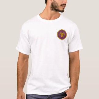 O dobro do império bizantino dirigiu o selo de camiseta