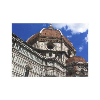 O domo canvas de Florença Italia Impressão De Canvas Envolvidas