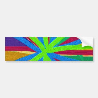 O Doodle da pintura da cor do divertimento alinha Adesivo Para Carro