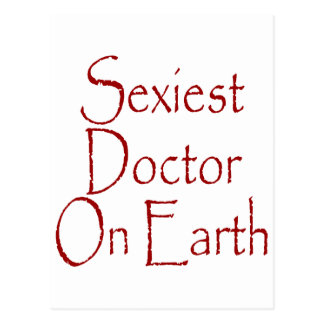 O doutor o mais sexy Terra Cartao Postal