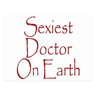 O doutor o mais sexy Terra Cartões Postais