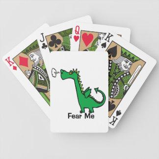O dragão dos desenhos animados teme-me jogo de carta