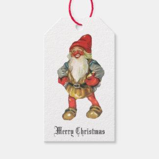 O duende do papai noel do Feliz Natal