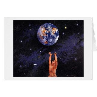 O Earthball das nossas crianças Cartão Comemorativo