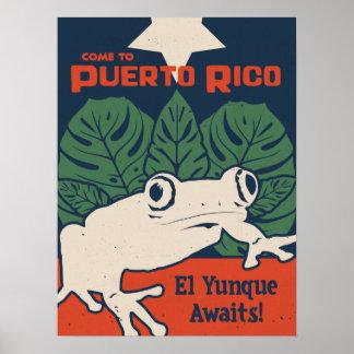 O EL Yunque espera Poster
