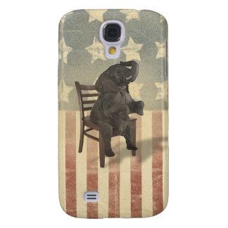O elefante do GOP toma sobre à cadeira político Capas Personalizadas Samsung Galaxy S4