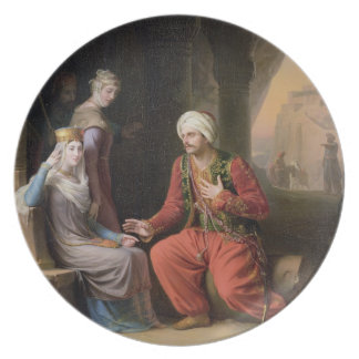 O Entreaty, 1822 (óleo em canvas) Prato De Festa