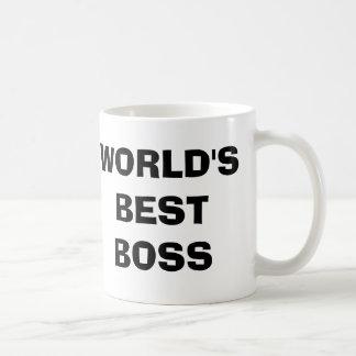 O escritório, caneca de café do chefe do mundo a