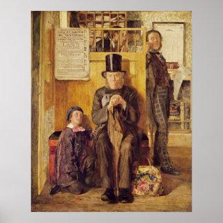 O escritório do procurador, 1857 posteres