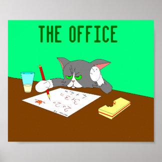 O escritório pôsteres