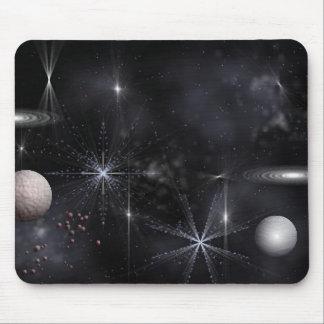 O espaço mouse pad