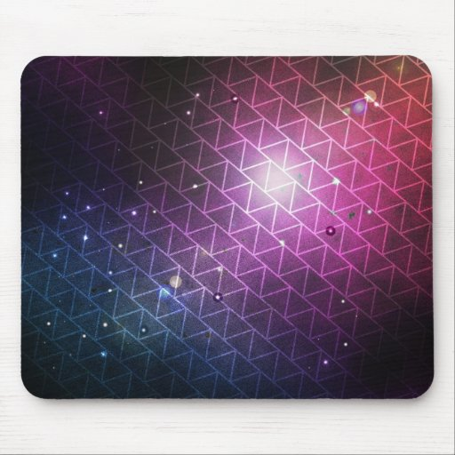 O espaço tempo Geo Mousepads