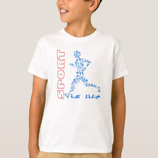 O esporte é minha vida tshirt