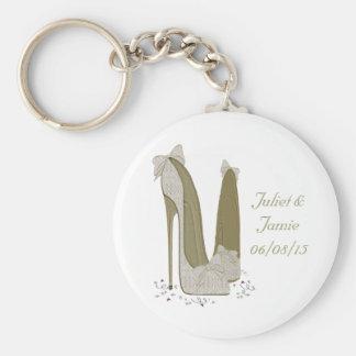 O estilete do casamento calça presentes da arte chaveiros