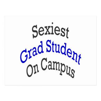 "O estudante licenciado o mais ""sexy"" no terreno cartao postal"