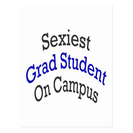 """O estudante licenciado o mais """"sexy"""" no terreno cartoes postais"""