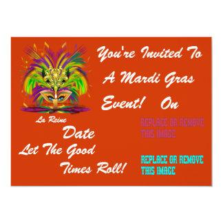 O evento do carnaval do carnaval vê por favor convite