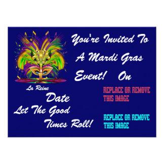 O evento do carnaval do carnaval vê por favor convites