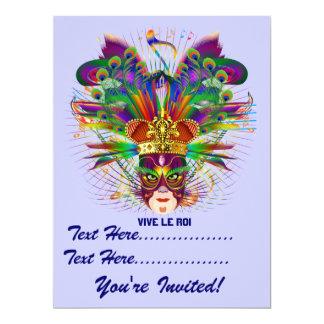 O evento do carnaval do carnaval vê por favor convite personalizado
