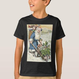 O Evergreen do carrinho de mão de Papai Noel Camiseta