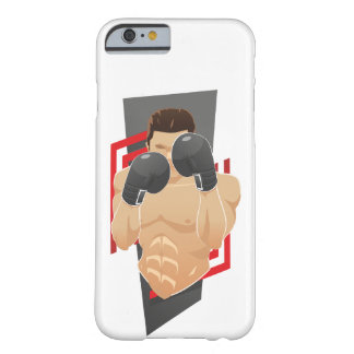 O exemplo do pugilista mal lá capa barely there para iPhone 6
