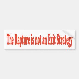 O êxtase não é uma estratégia de saída adesivo para carro