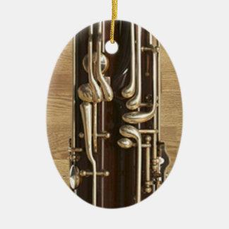 O fagote fecha o pendente do ornamento