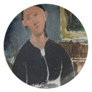 O Fantasist (óleo em canvas) Louças De Jantar