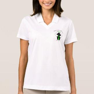 O fantasma da mulher 1 t-shirt polo