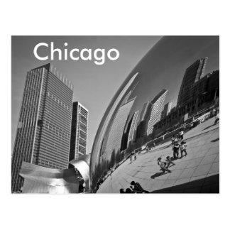 O feijão Chicago Cartão Postal