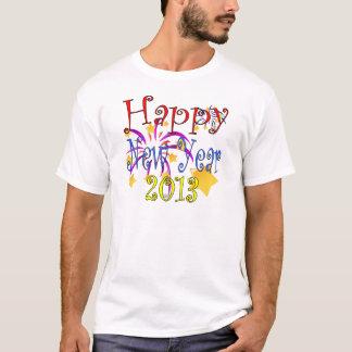 O feliz ano novo 2013 camiseta