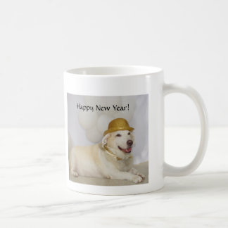 O feliz ano novo! caneca