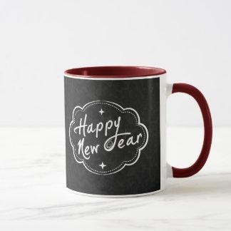O feliz ano novo - TBA Caneca