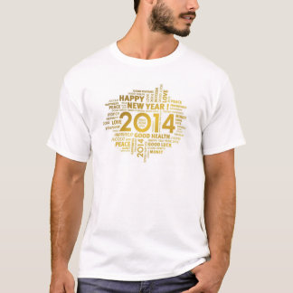 o feliz ano novo tshirts