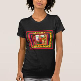 O Feliz Natal o mundo em torno de mim está feliz Camiseta