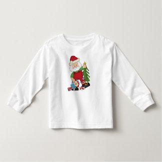 O feriado do papai noel do Natal caçoa o t-shirt