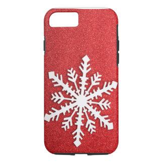 O feriado Sparkles caso do iPhone 7 do floco de Capa iPhone 7