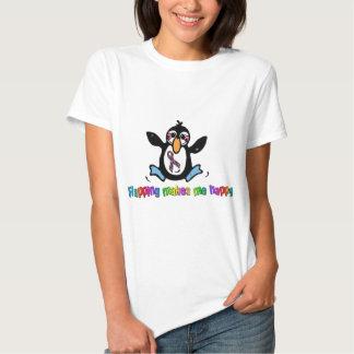 O Flapping do autismo faz-me feliz Tshirts