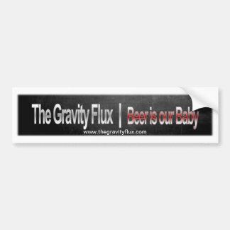 O fluxo da gravidade - autocolante no vidro trasei adesivo para carro
