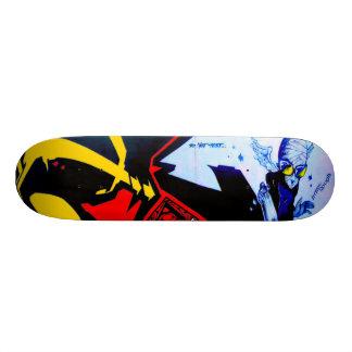 O Flyboy pode controlar - a arte da rua Sk8 Shape De Skate 18,4cm