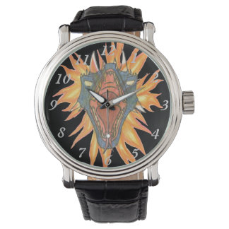 O fogo do dragão relógio de pulso